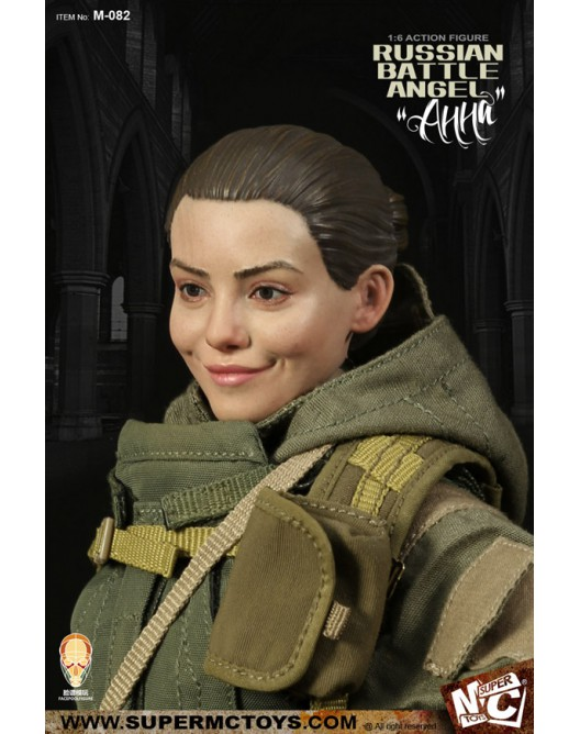 Russian - NEW PRODUCT: SUPERMC TOYS X FacePoolFigure:1/6 Russian battle angel —Анна 08261510