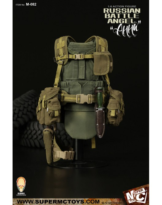Russian - NEW PRODUCT: SUPERMC TOYS X FacePoolFigure:1/6 Russian battle angel —Анна 08262010
