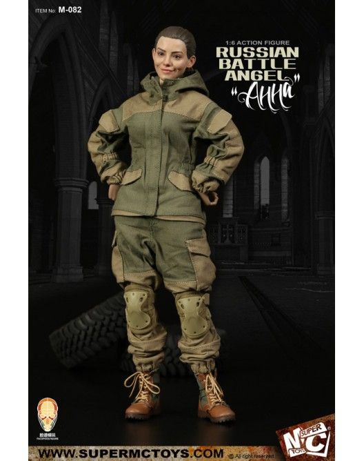 Russian - NEW PRODUCT: SUPERMC TOYS X FacePoolFigure:1/6 Russian battle angel —Анна 08262210