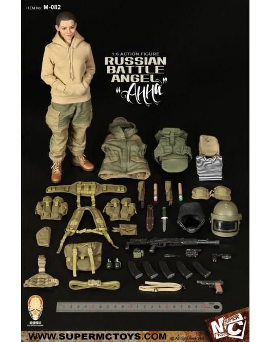 Russian - NEW PRODUCT: SUPERMC TOYS X FacePoolFigure:1/6 Russian battle angel —Анна 08262710