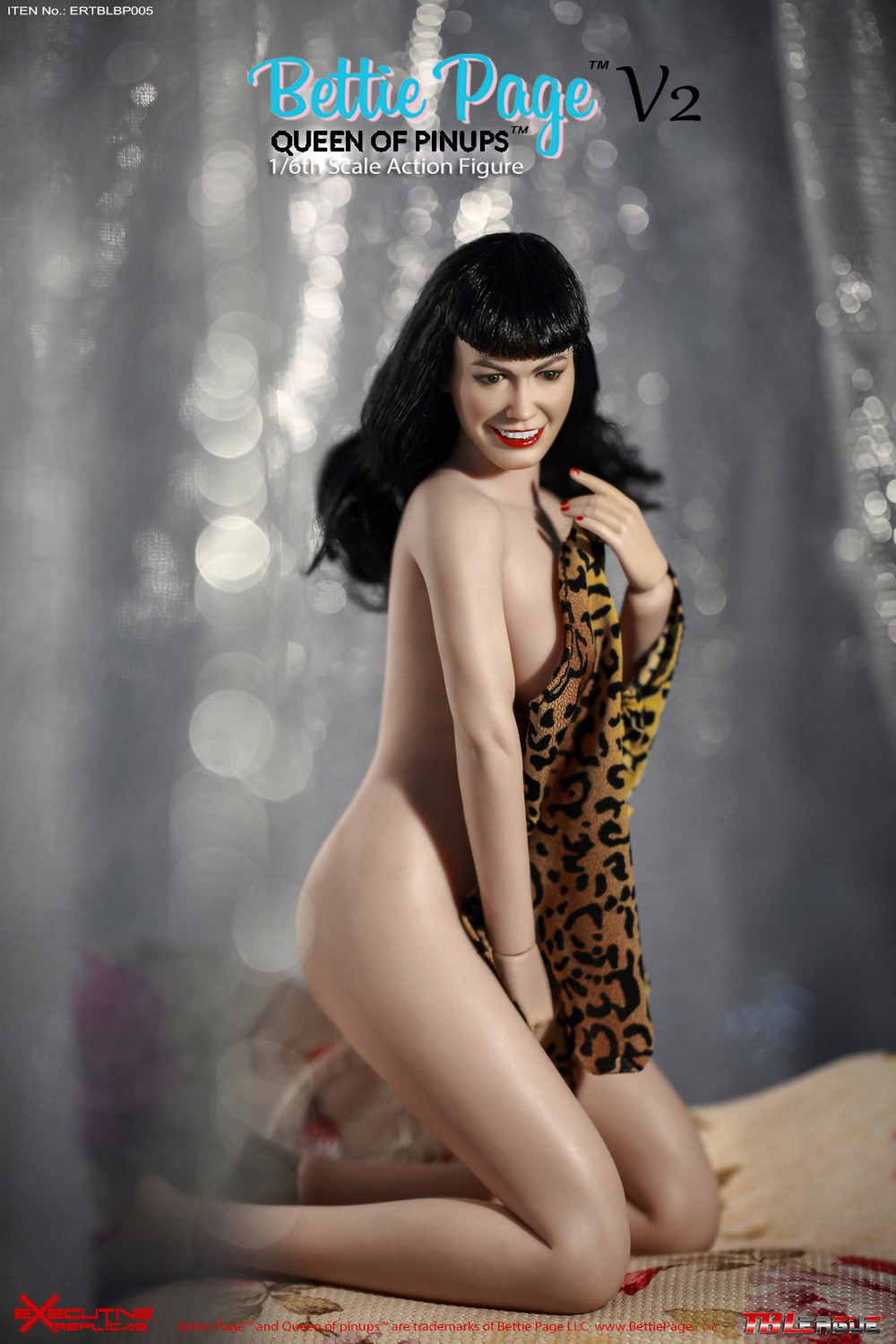 tbleague - NEW PRODUCT: Executive Replicas & TBLeague: 1/6 Queen of Pin-Ups, Betty Page/Bettie Page V2 action figure 08345110