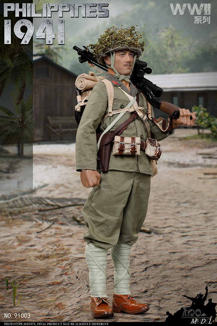 japanese - NEW PRODUCT: IQO Model: 1/6 WWII series 1941 Philippines, 1945 Okinawa (NO.91003, 91004) 08470110