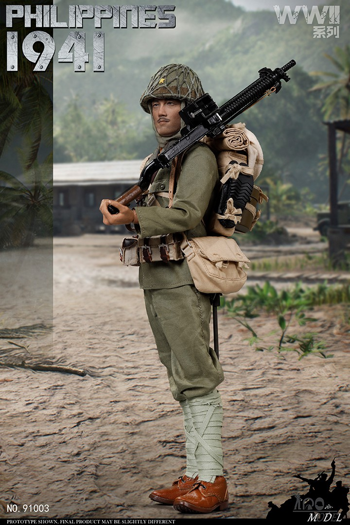 japanese - NEW PRODUCT: IQO Model: 1/6 WWII series 1941 Philippines, 1945 Okinawa (NO.91003, 91004) 08471110