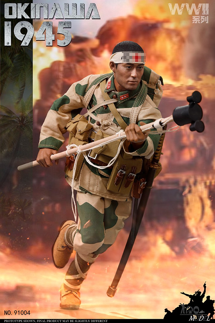 japanese - NEW PRODUCT: IQO Model: 1/6 WWII series 1941 Philippines, 1945 Okinawa (NO.91003, 91004) 08493210