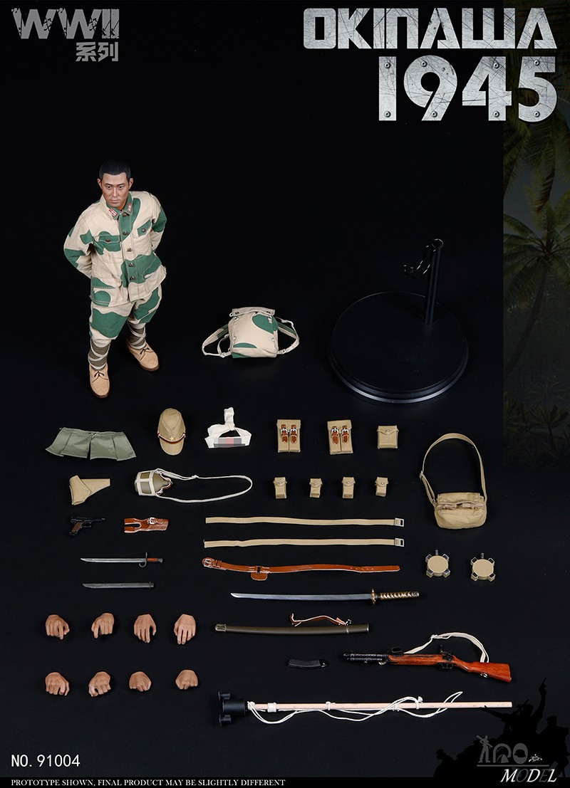 japanese - NEW PRODUCT: IQO Model: 1/6 WWII series 1941 Philippines, 1945 Okinawa (NO.91003, 91004) 08495910