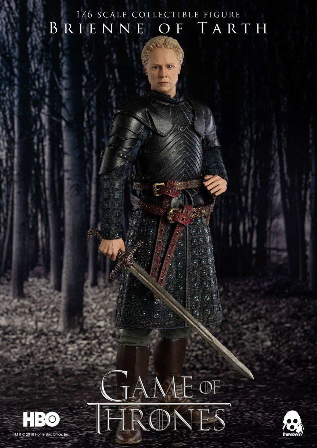 "NEW PRODUCT: ThreeZero New: 1/6 ""The Song of Ice and Fire: The Game of Power"" - Brienne of Tarth / Tarnes 09234110"