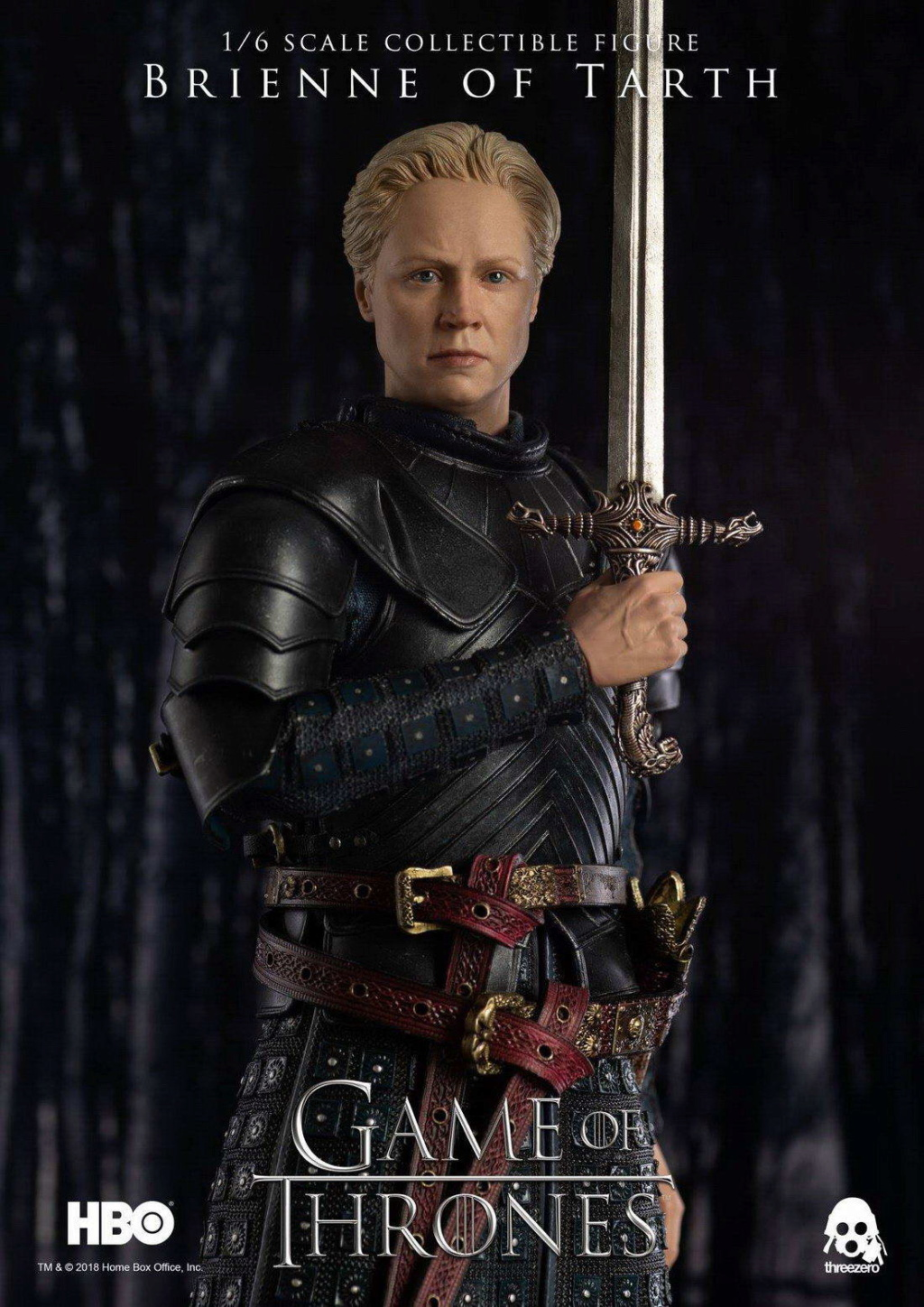 "NEW PRODUCT: ThreeZero New: 1/6 ""The Song of Ice and Fire: The Game of Power"" - Brienne of Tarth / Tarnes 09234510"