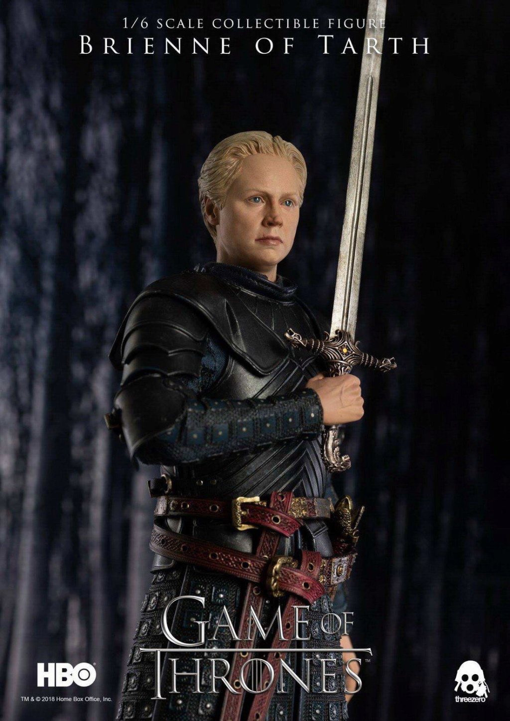 "NEW PRODUCT: ThreeZero New: 1/6 ""The Song of Ice and Fire: The Game of Power"" - Brienne of Tarth / Tarnes 09234910"