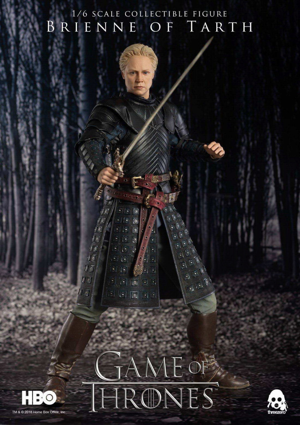 "NEW PRODUCT: ThreeZero New: 1/6 ""The Song of Ice and Fire: The Game of Power"" - Brienne of Tarth / Tarnes 09235410"
