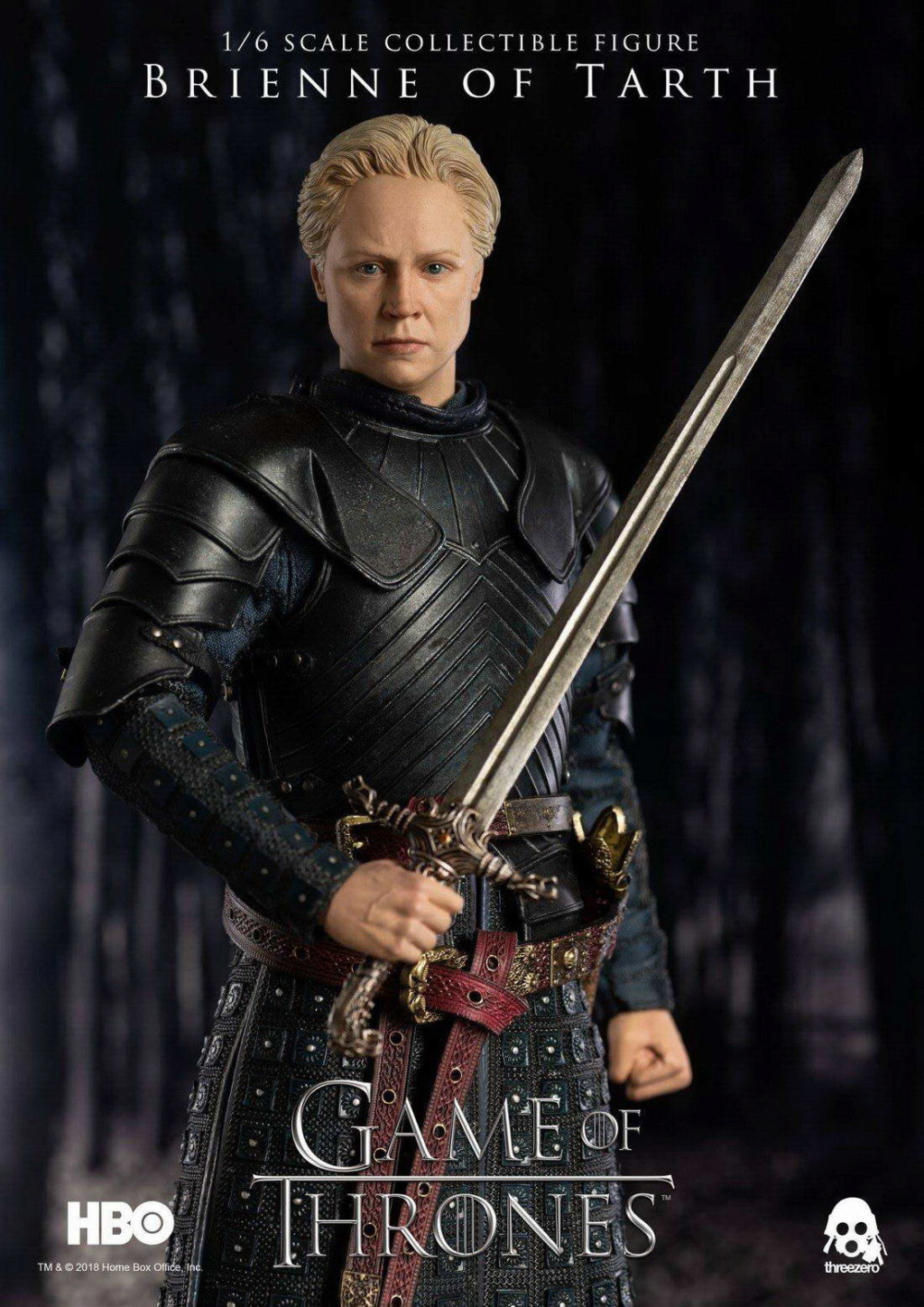 "NEW PRODUCT: ThreeZero New: 1/6 ""The Song of Ice and Fire: The Game of Power"" - Brienne of Tarth / Tarnes 09235810"