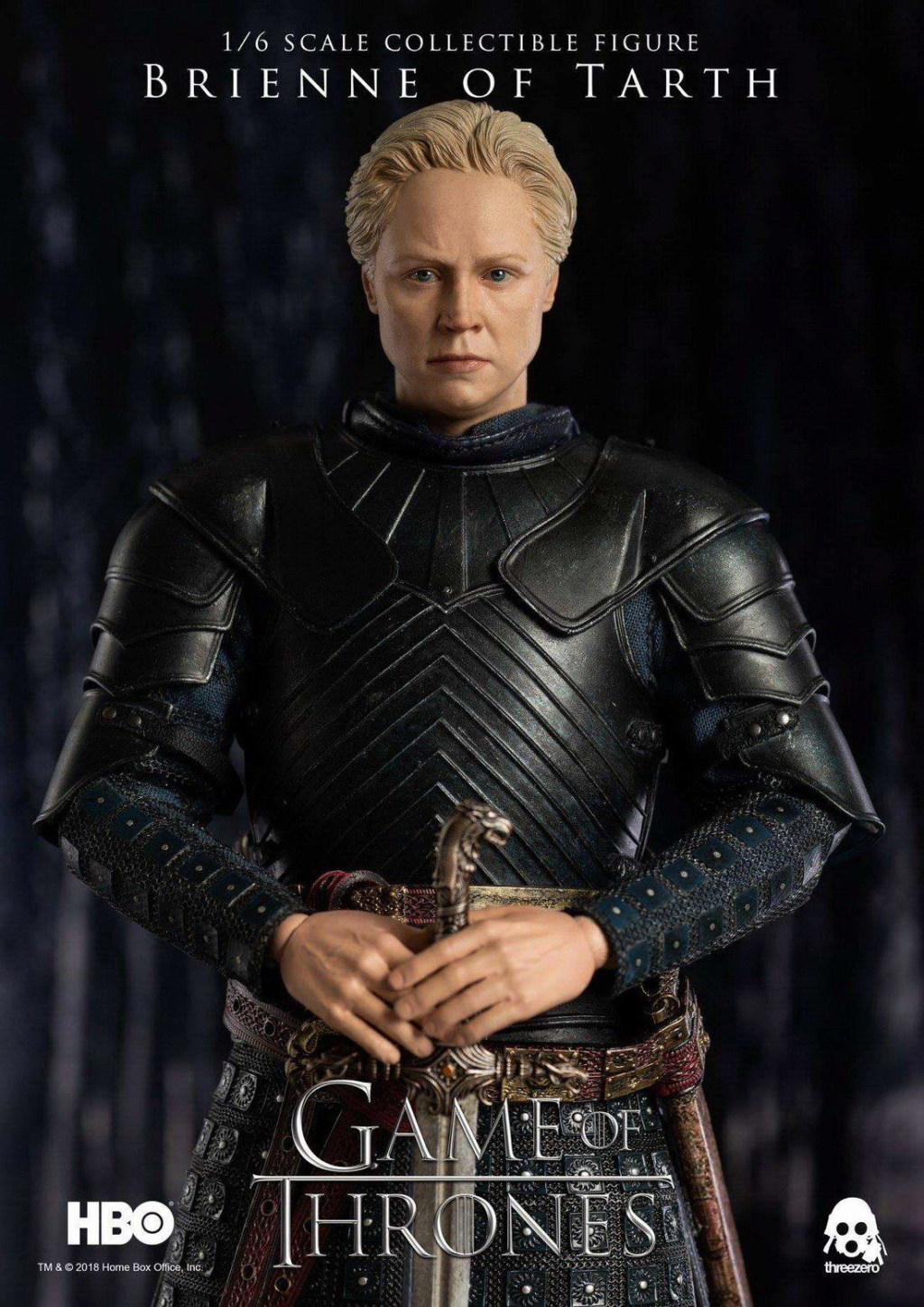"NEW PRODUCT: ThreeZero New: 1/6 ""The Song of Ice and Fire: The Game of Power"" - Brienne of Tarth / Tarnes 09240210"