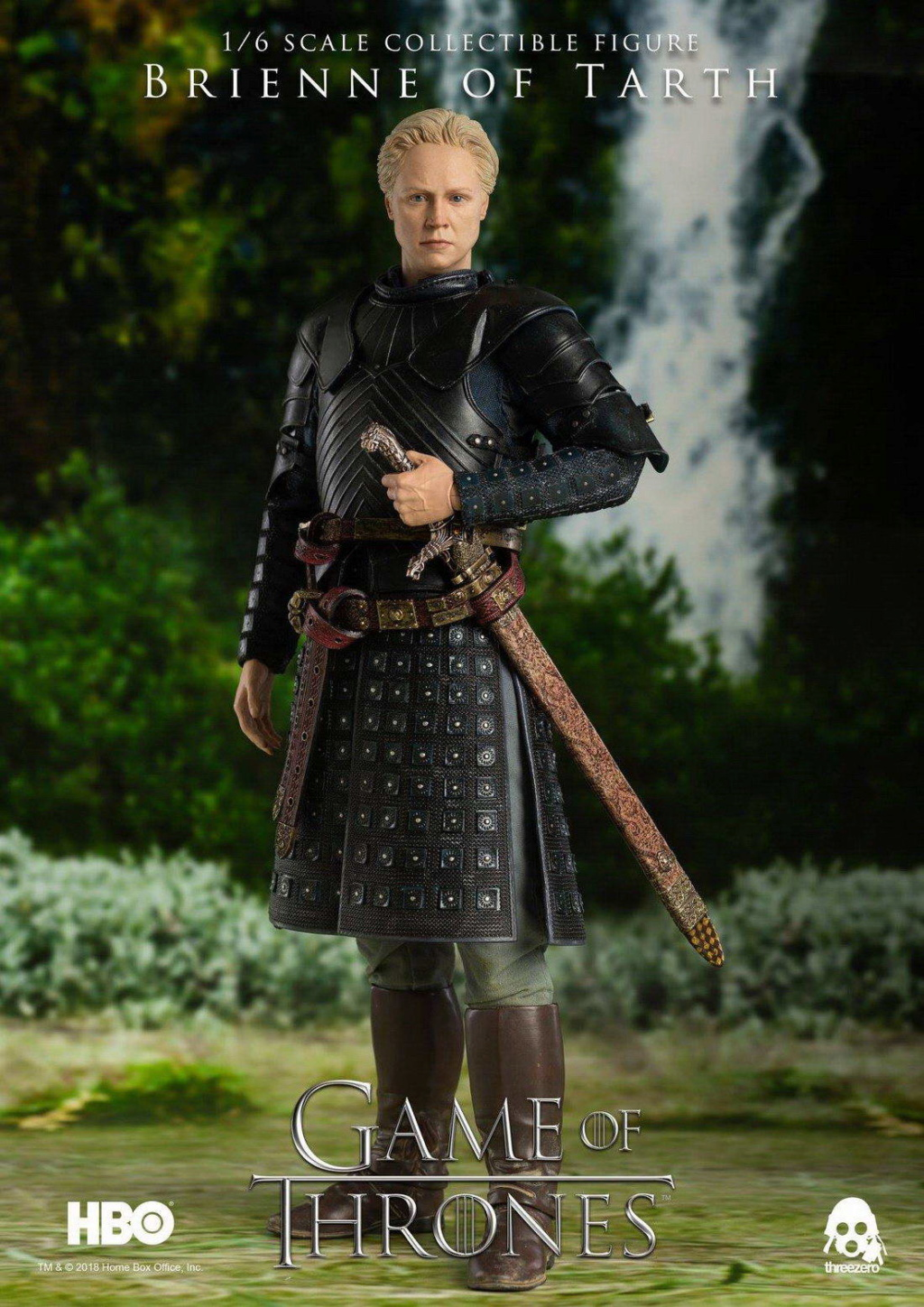 "NEW PRODUCT: ThreeZero New: 1/6 ""The Song of Ice and Fire: The Game of Power"" - Brienne of Tarth / Tarnes 09240610"