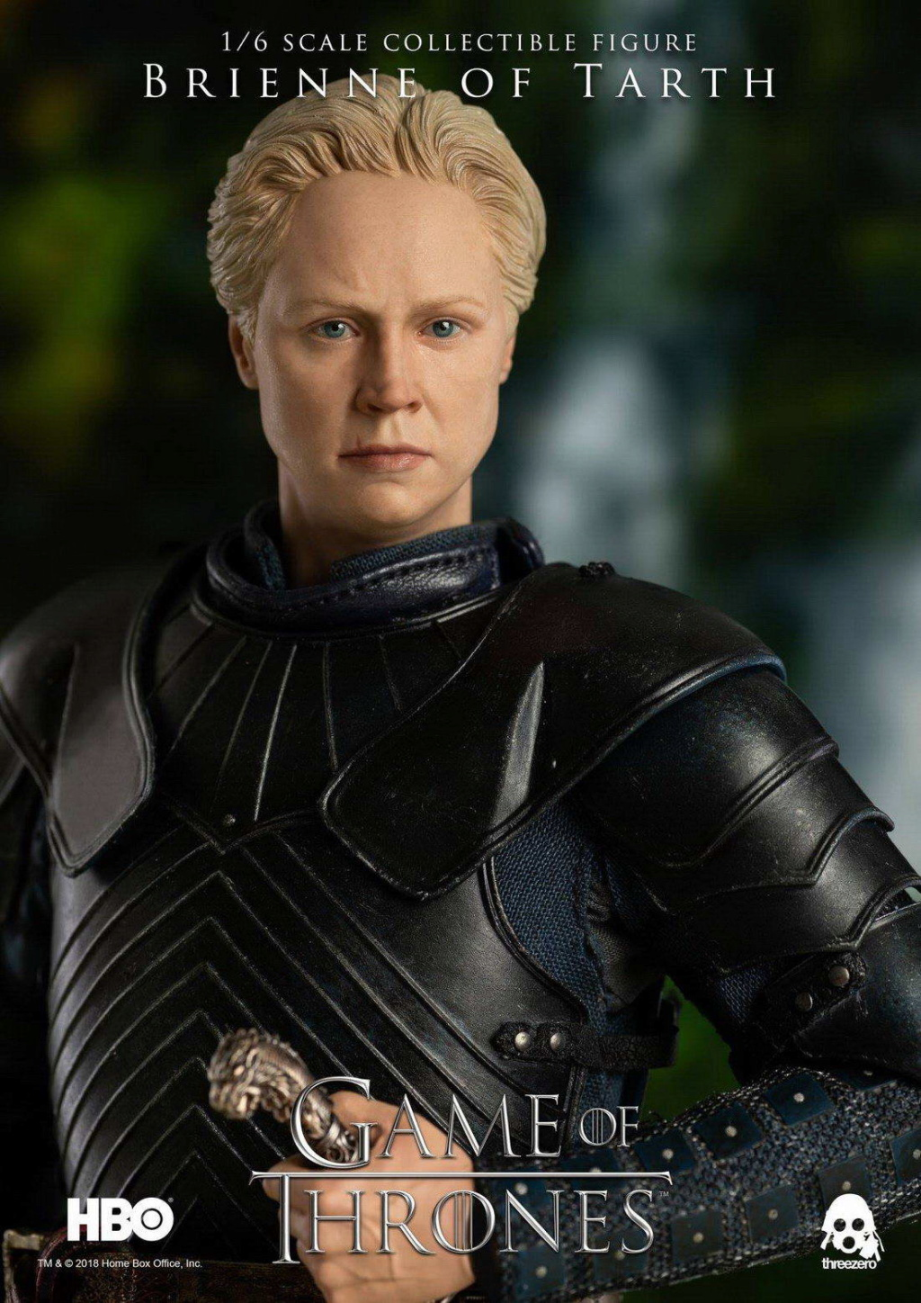 "NEW PRODUCT: ThreeZero New: 1/6 ""The Song of Ice and Fire: The Game of Power"" - Brienne of Tarth / Tarnes 09241010"
