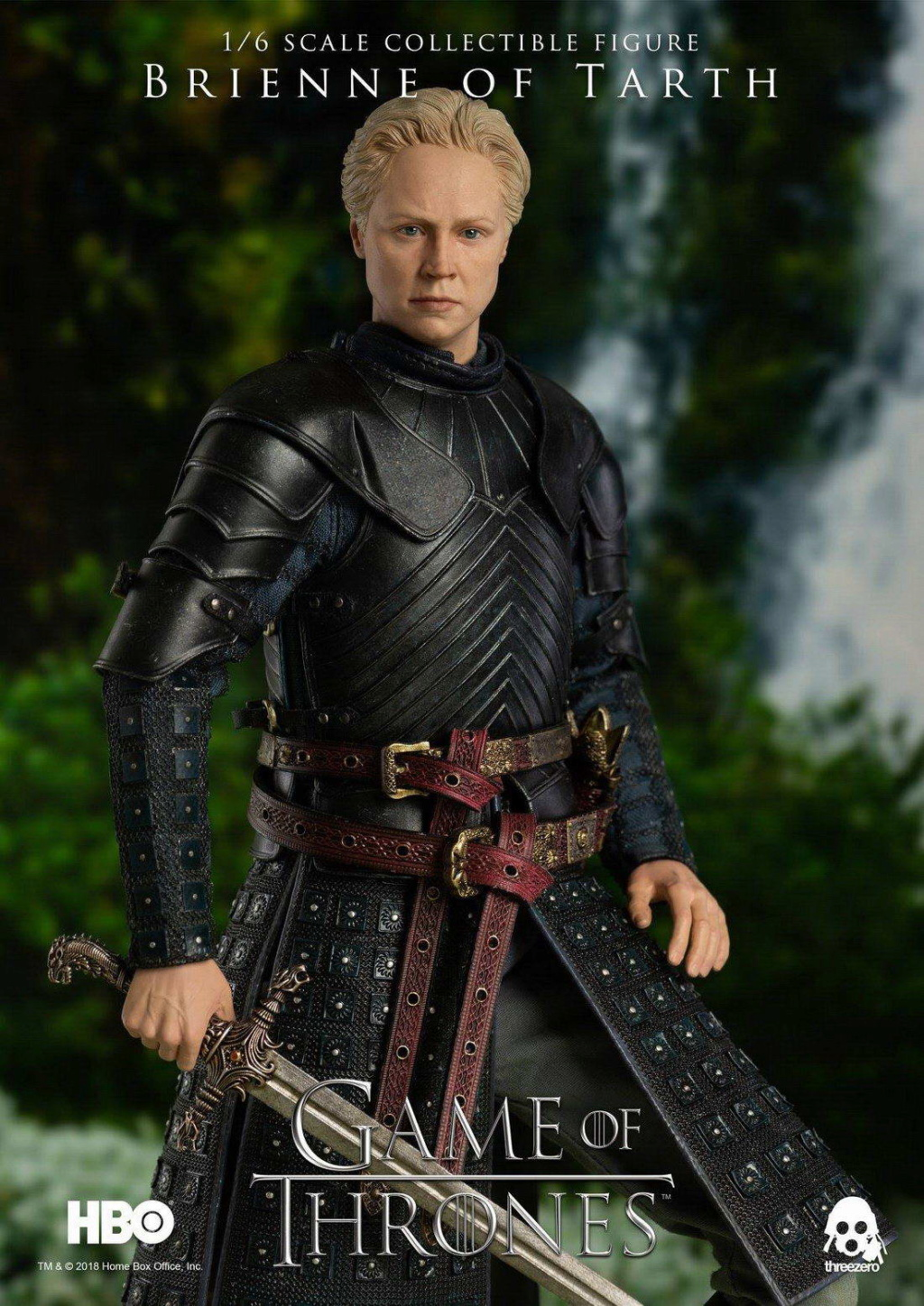 "NEW PRODUCT: ThreeZero New: 1/6 ""The Song of Ice and Fire: The Game of Power"" - Brienne of Tarth / Tarnes 09241410"