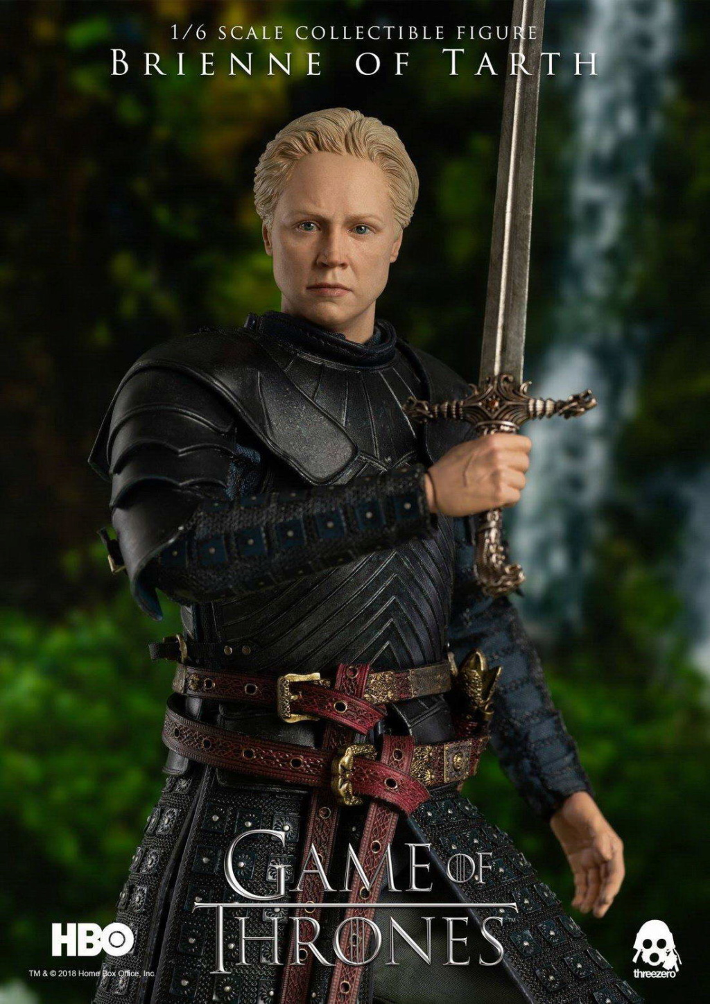 "NEW PRODUCT: ThreeZero New: 1/6 ""The Song of Ice and Fire: The Game of Power"" - Brienne of Tarth / Tarnes 09241910"