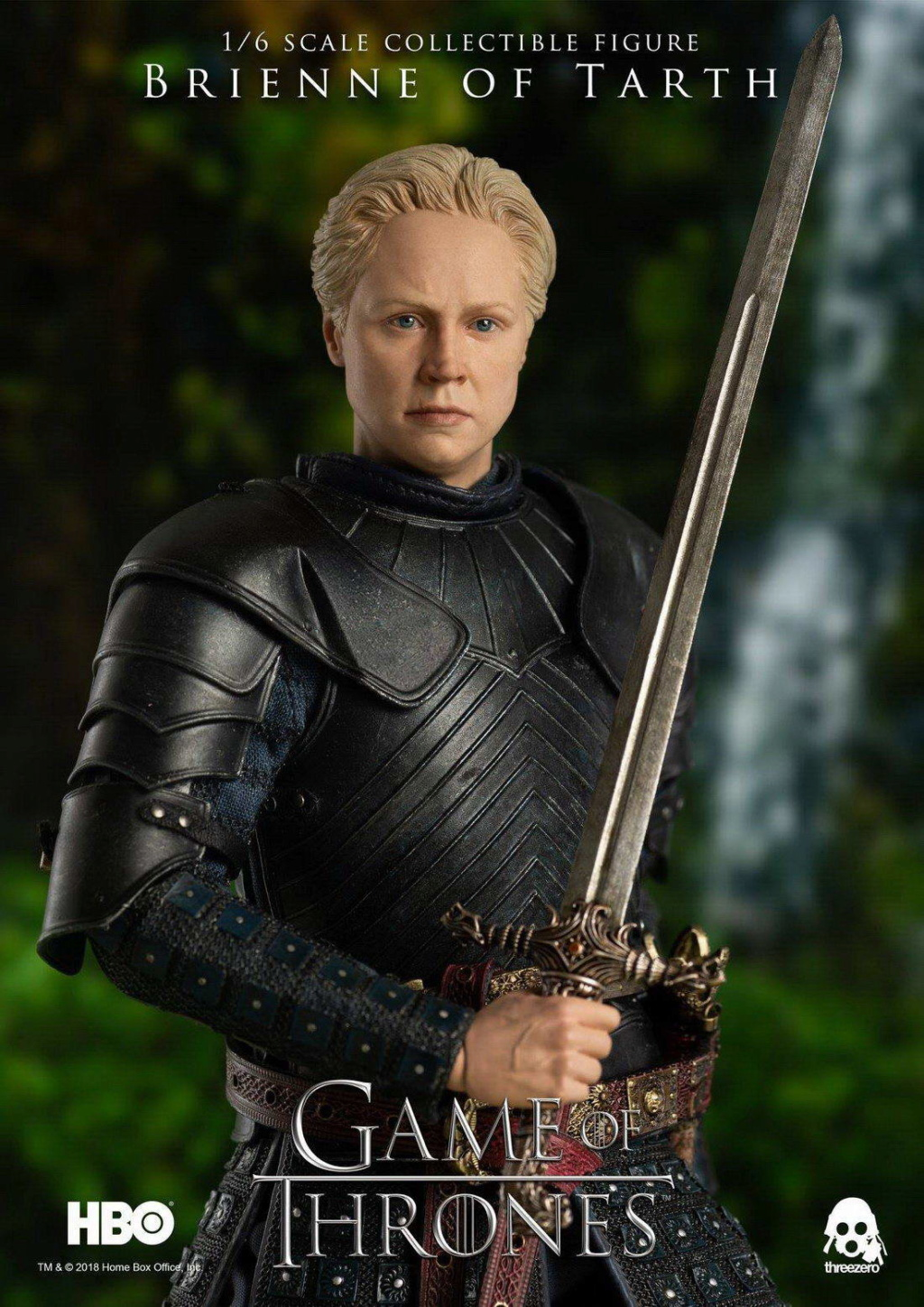"NEW PRODUCT: ThreeZero New: 1/6 ""The Song of Ice and Fire: The Game of Power"" - Brienne of Tarth / Tarnes 09242310"
