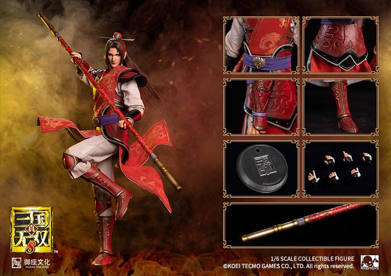 warrior - NEW PRODUCT: Ring Toys: 1/6 Three Kingdoms Warriors - Zhou Yu action figure 09350311