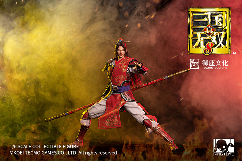 warrior - NEW PRODUCT: Ring Toys: 1/6 Three Kingdoms Warriors - Zhou Yu action figure 09350410