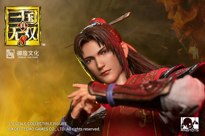 warrior - NEW PRODUCT: Ring Toys: 1/6 Three Kingdoms Warriors - Zhou Yu action figure 09350510