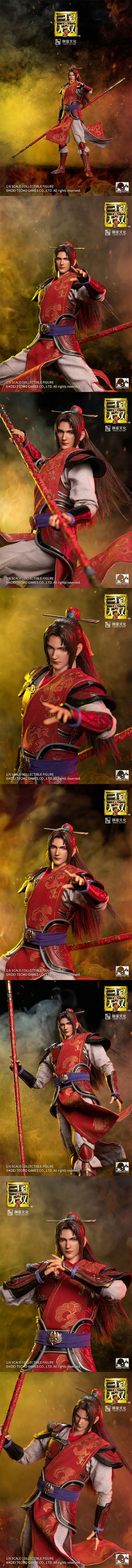warrior - NEW PRODUCT: Ring Toys: 1/6 Three Kingdoms Warriors - Zhou Yu action figure 09350910