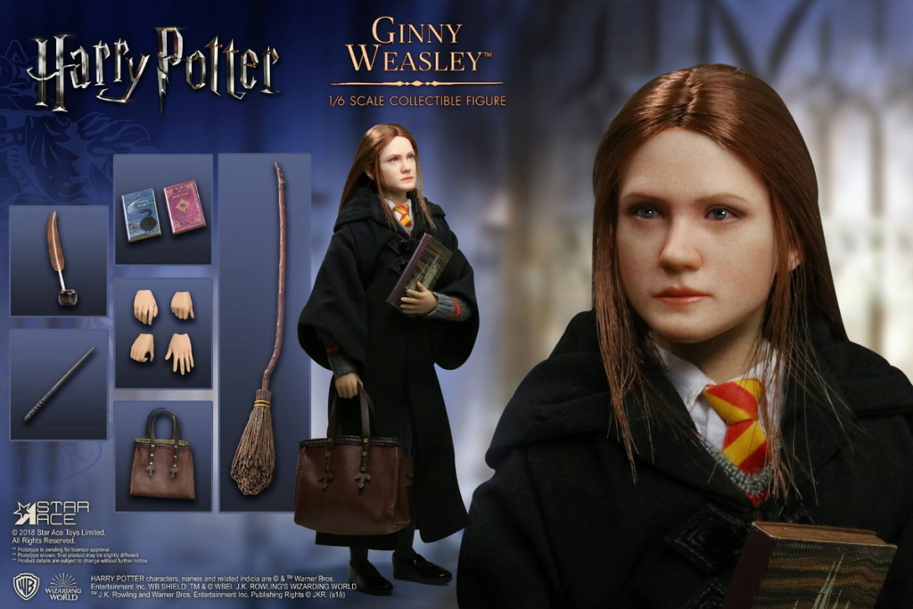 harrypotter - NEW PRODUCT: Star Ace Toys: 1/6 Harry Potter Collection - Ginny Weasley & Luna Lovegood SA062 SA063 09373810