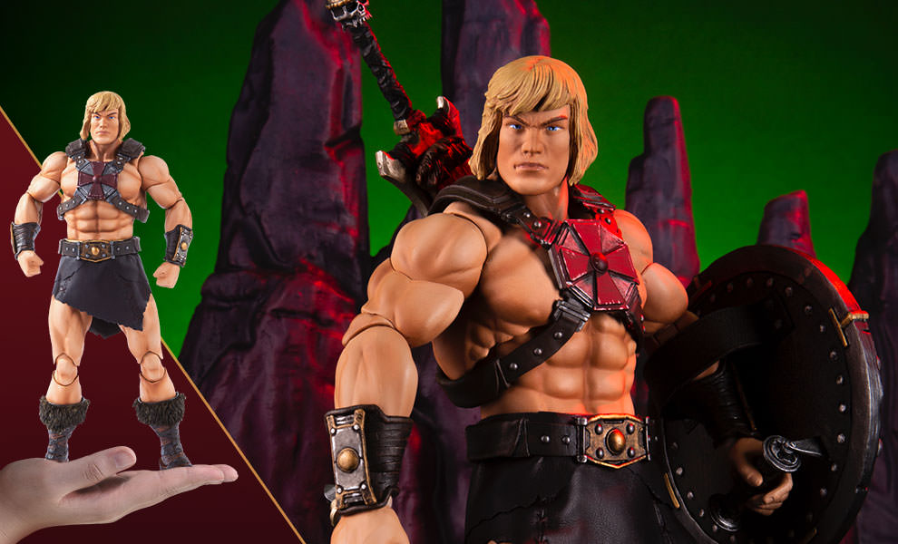 "sideshow - NEW PRODUCT: Sideshow X Mondo: 1/6 ""The Giant of the Universe"" - He-Man / Seaman Movable (#904080) 09474810"