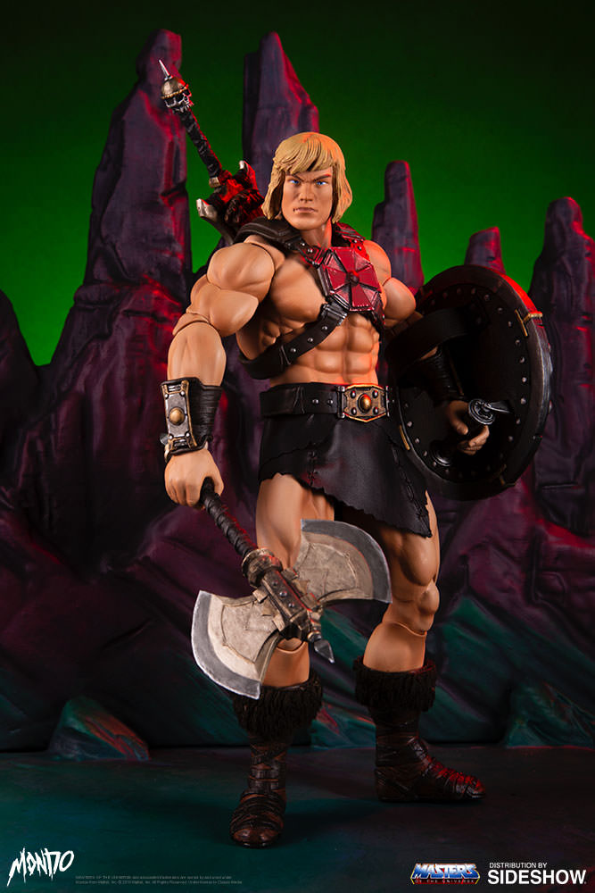 "sideshow - NEW PRODUCT: Sideshow X Mondo: 1/6 ""The Giant of the Universe"" - He-Man / Seaman Movable (#904080) 09475010"