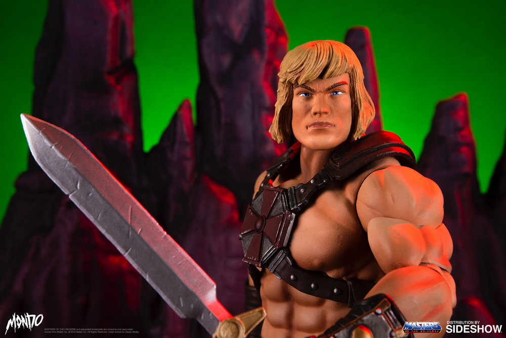 "sideshow - NEW PRODUCT: Sideshow X Mondo: 1/6 ""The Giant of the Universe"" - He-Man / Seaman Movable (#904080) 09475710"