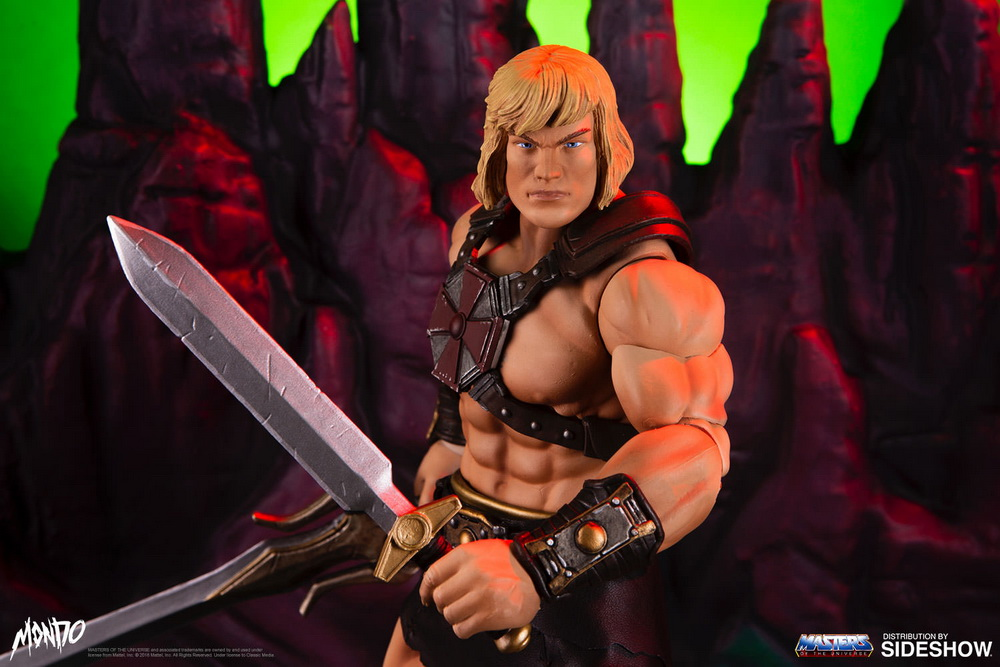 "sideshow - NEW PRODUCT: Sideshow X Mondo: 1/6 ""The Giant of the Universe"" - He-Man / Seaman Movable (#904080) 09480110"