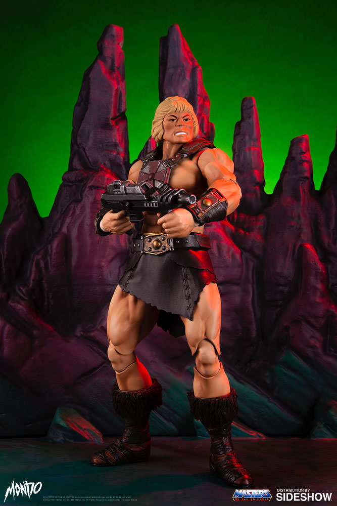 "sideshow - NEW PRODUCT: Sideshow X Mondo: 1/6 ""The Giant of the Universe"" - He-Man / Seaman Movable (#904080) 09480810"