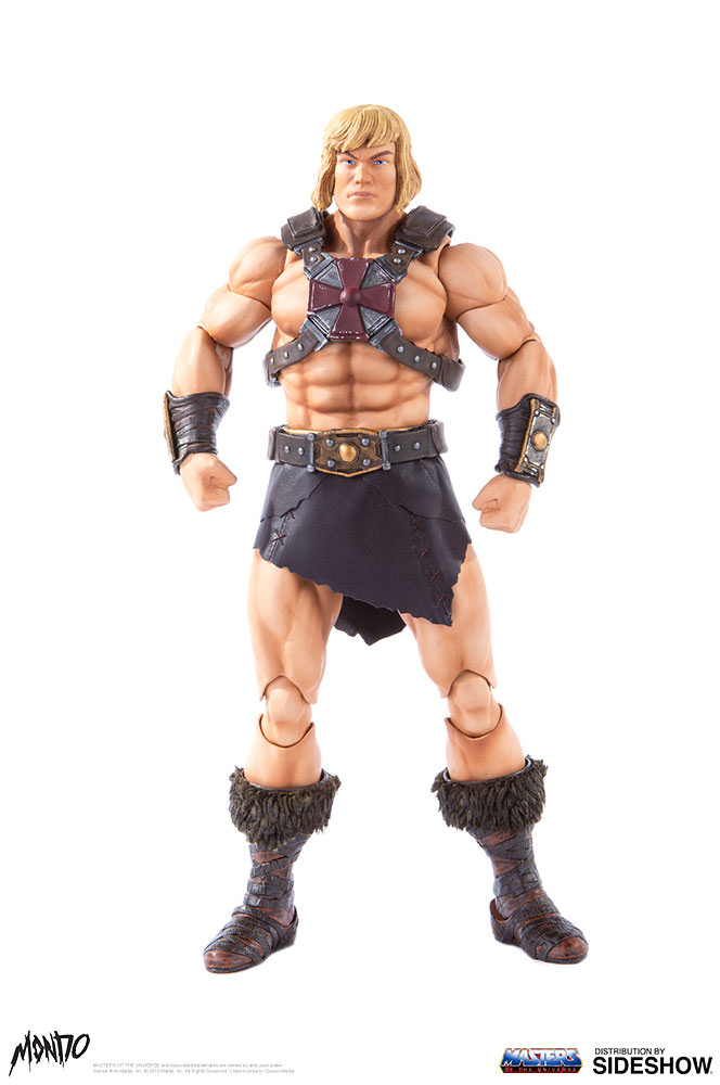 "sideshow - NEW PRODUCT: Sideshow X Mondo: 1/6 ""The Giant of the Universe"" - He-Man / Seaman Movable (#904080) 09482610"