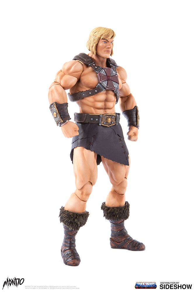 "sideshow - NEW PRODUCT: Sideshow X Mondo: 1/6 ""The Giant of the Universe"" - He-Man / Seaman Movable (#904080) 09482910"