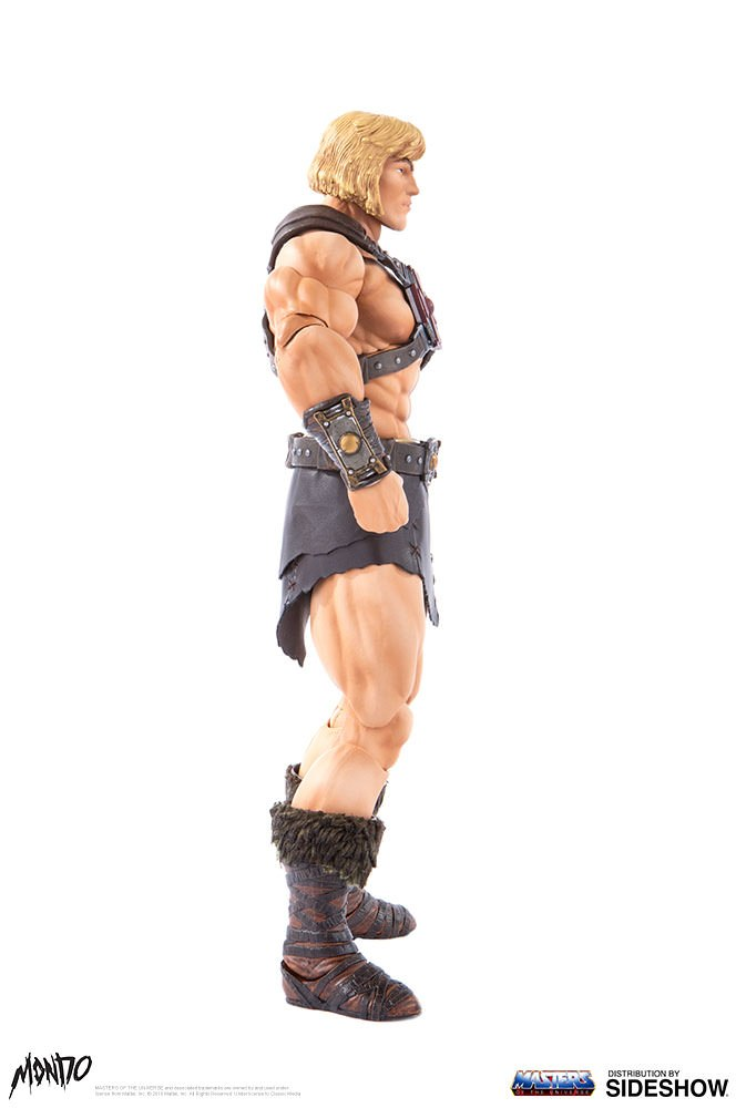 "sideshow - NEW PRODUCT: Sideshow X Mondo: 1/6 ""The Giant of the Universe"" - He-Man / Seaman Movable (#904080) 09483210"