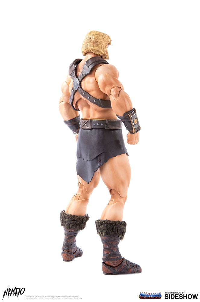 "sideshow - NEW PRODUCT: Sideshow X Mondo: 1/6 ""The Giant of the Universe"" - He-Man / Seaman Movable (#904080) 09483410"