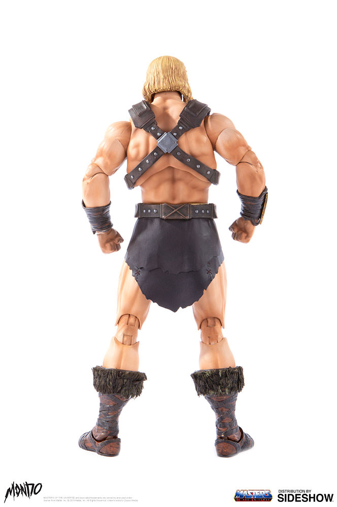 "sideshow - NEW PRODUCT: Sideshow X Mondo: 1/6 ""The Giant of the Universe"" - He-Man / Seaman Movable (#904080) 09483710"