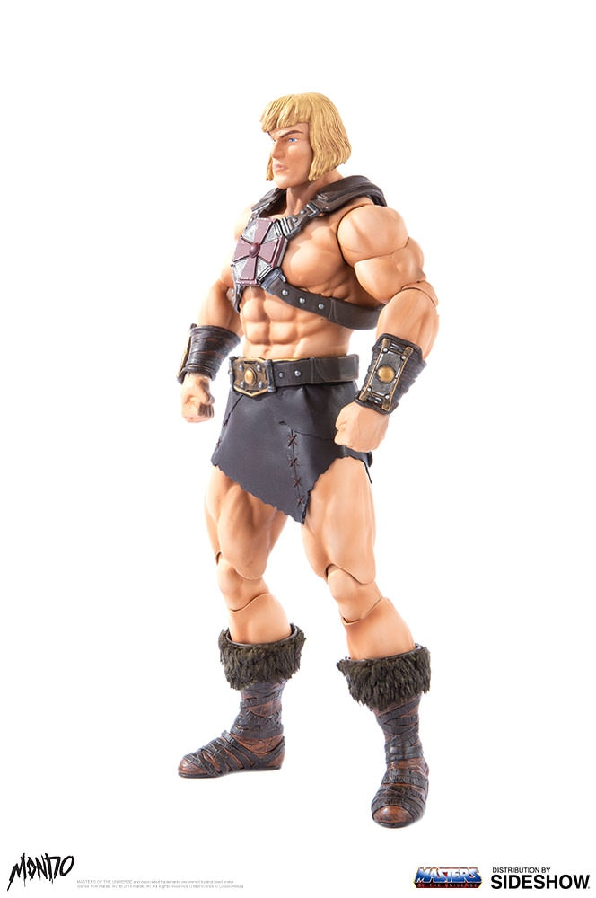 "sideshow - NEW PRODUCT: Sideshow X Mondo: 1/6 ""The Giant of the Universe"" - He-Man / Seaman Movable (#904080) 09485010"