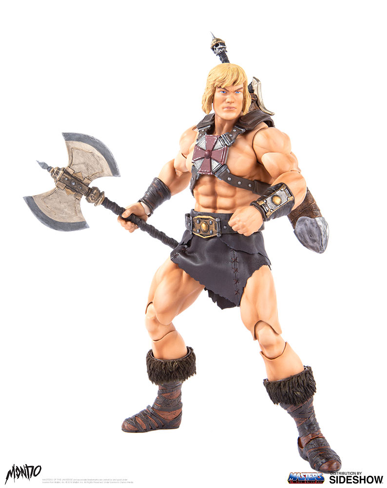"sideshow - NEW PRODUCT: Sideshow X Mondo: 1/6 ""The Giant of the Universe"" - He-Man / Seaman Movable (#904080) 09485710"