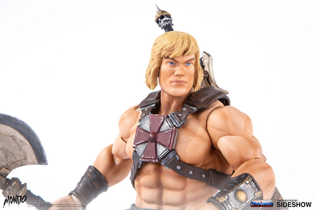 "sideshow - NEW PRODUCT: Sideshow X Mondo: 1/6 ""The Giant of the Universe"" - He-Man / Seaman Movable (#904080) 09490110"
