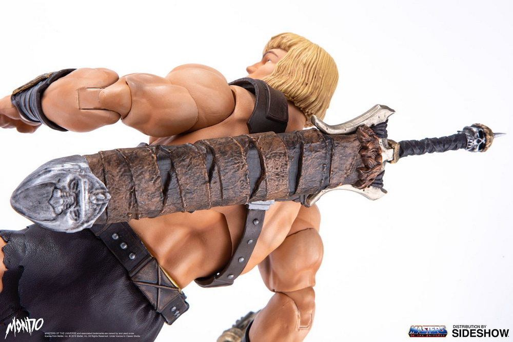 "sideshow - NEW PRODUCT: Sideshow X Mondo: 1/6 ""The Giant of the Universe"" - He-Man / Seaman Movable (#904080) 09492410"