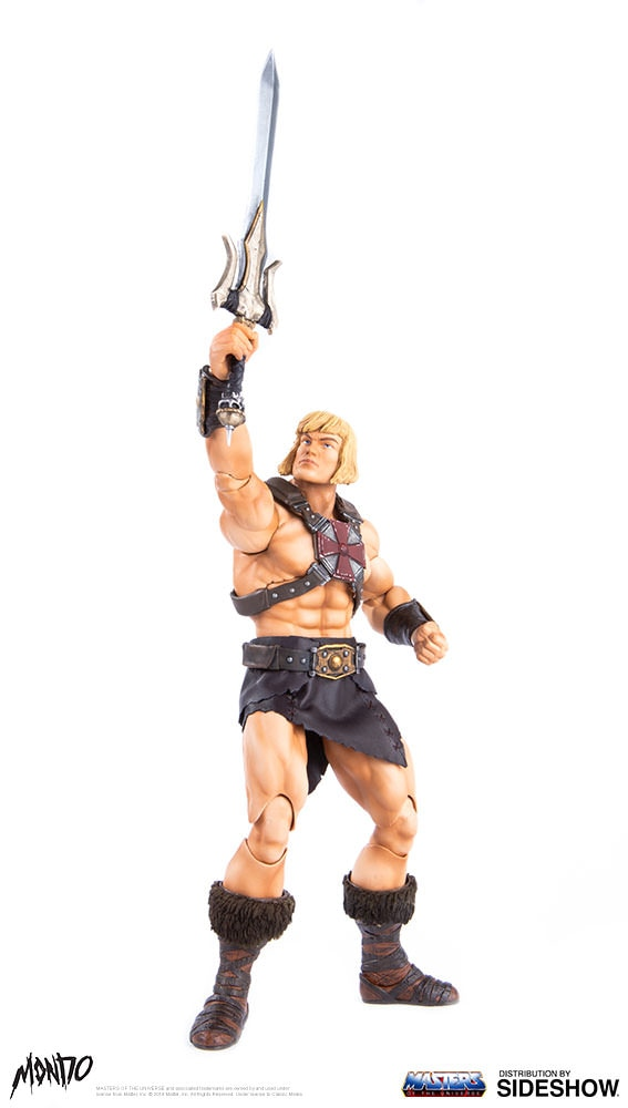 "sideshow - NEW PRODUCT: Sideshow X Mondo: 1/6 ""The Giant of the Universe"" - He-Man / Seaman Movable (#904080) 09493010"
