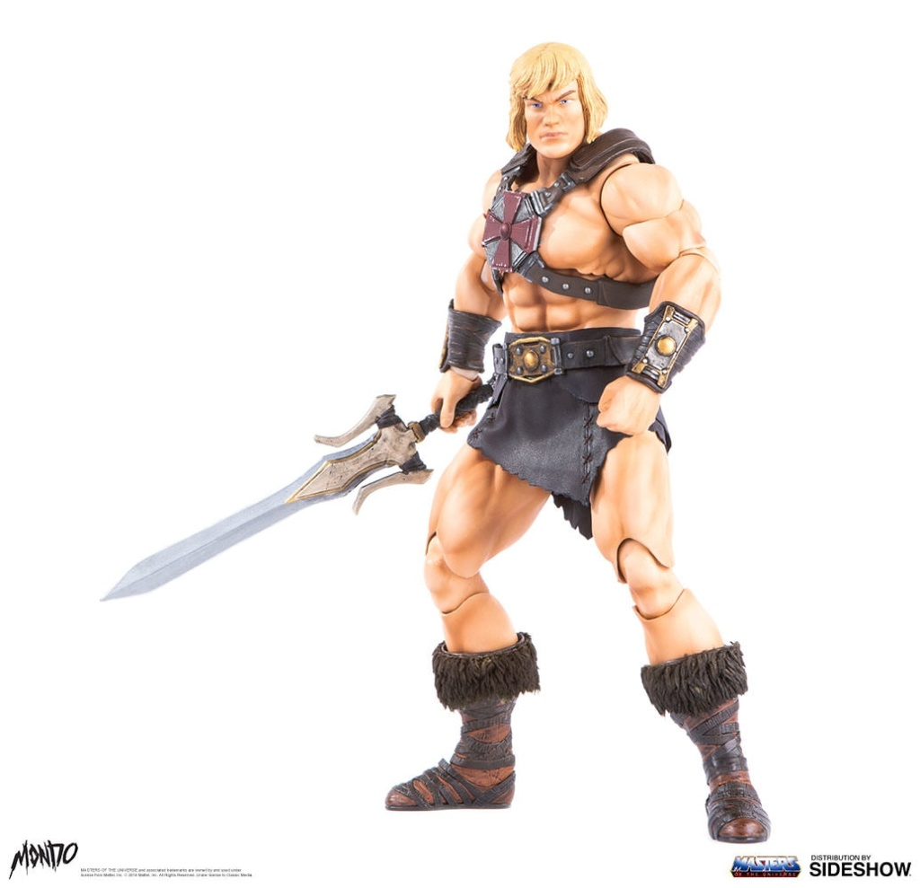 "sideshow - NEW PRODUCT: Sideshow X Mondo: 1/6 ""The Giant of the Universe"" - He-Man / Seaman Movable (#904080) 09493310"