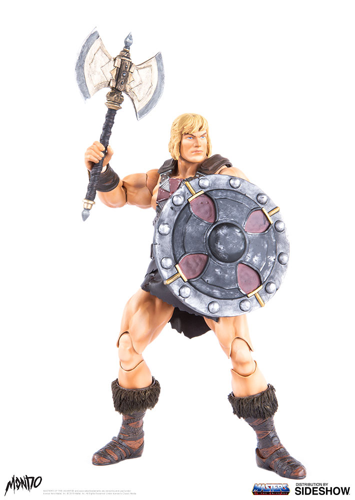 "sideshow - NEW PRODUCT: Sideshow X Mondo: 1/6 ""The Giant of the Universe"" - He-Man / Seaman Movable (#904080) 09493510"