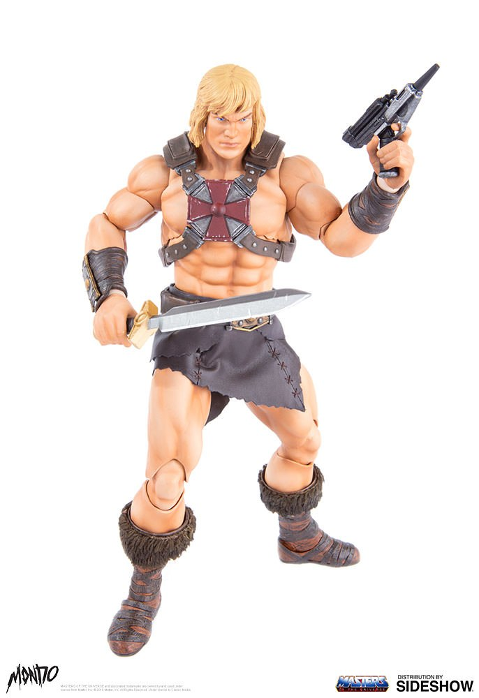 "sideshow - NEW PRODUCT: Sideshow X Mondo: 1/6 ""The Giant of the Universe"" - He-Man / Seaman Movable (#904080) 09500510"