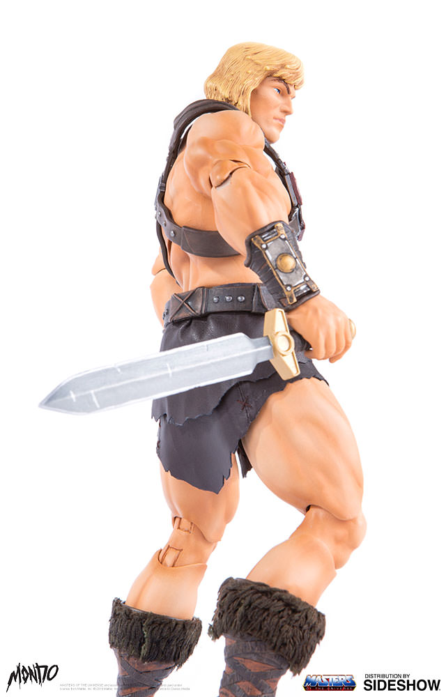 "sideshow - NEW PRODUCT: Sideshow X Mondo: 1/6 ""The Giant of the Universe"" - He-Man / Seaman Movable (#904080) 09502410"
