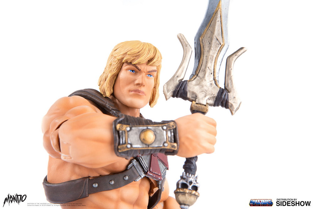 "sideshow - NEW PRODUCT: Sideshow X Mondo: 1/6 ""The Giant of the Universe"" - He-Man / Seaman Movable (#904080) 09502710"