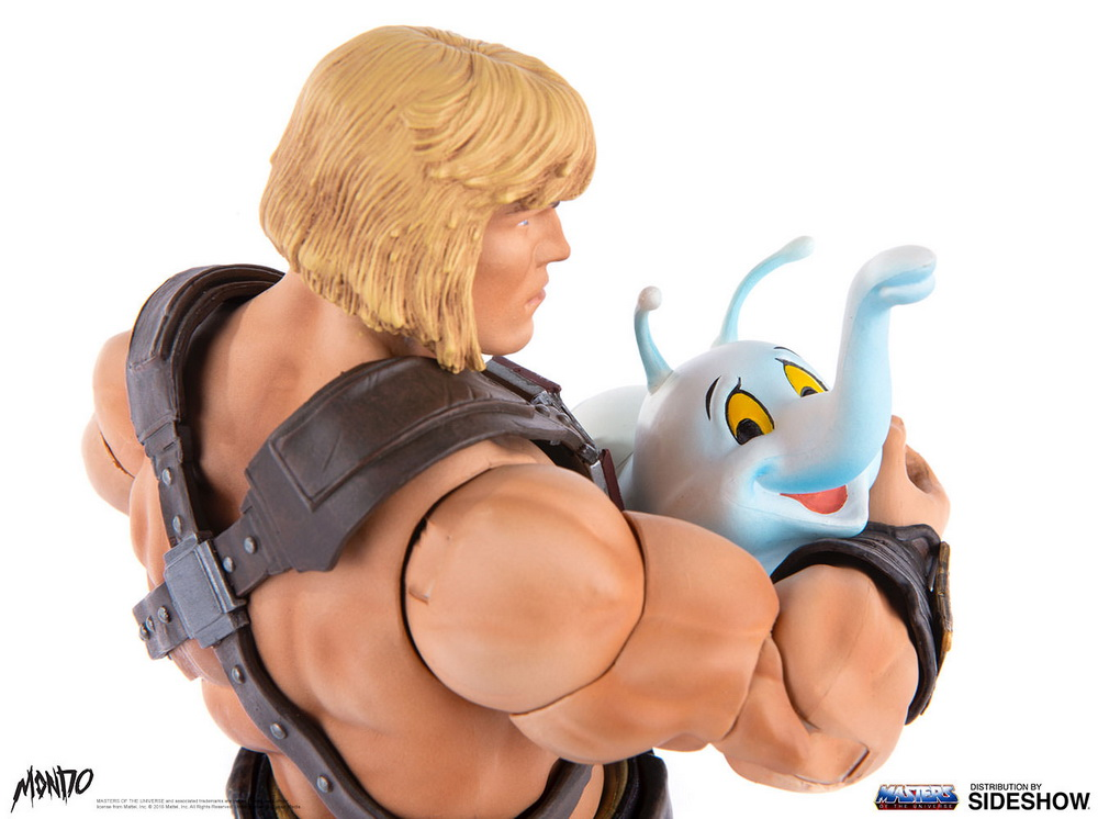 "sideshow - NEW PRODUCT: Sideshow X Mondo: 1/6 ""The Giant of the Universe"" - He-Man / Seaman Movable (#904080) 09505910"