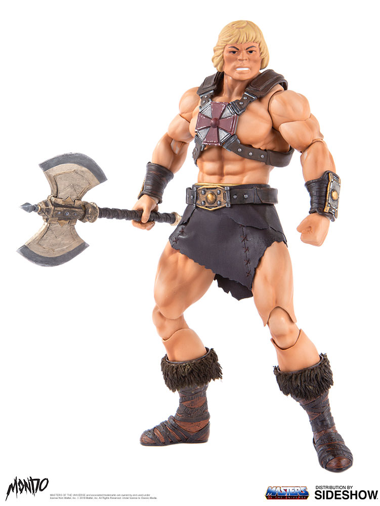 "sideshow - NEW PRODUCT: Sideshow X Mondo: 1/6 ""The Giant of the Universe"" - He-Man / Seaman Movable (#904080) 09510710"