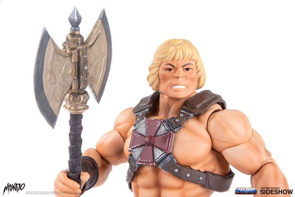 "sideshow - NEW PRODUCT: Sideshow X Mondo: 1/6 ""The Giant of the Universe"" - He-Man / Seaman Movable (#904080) 09511110"