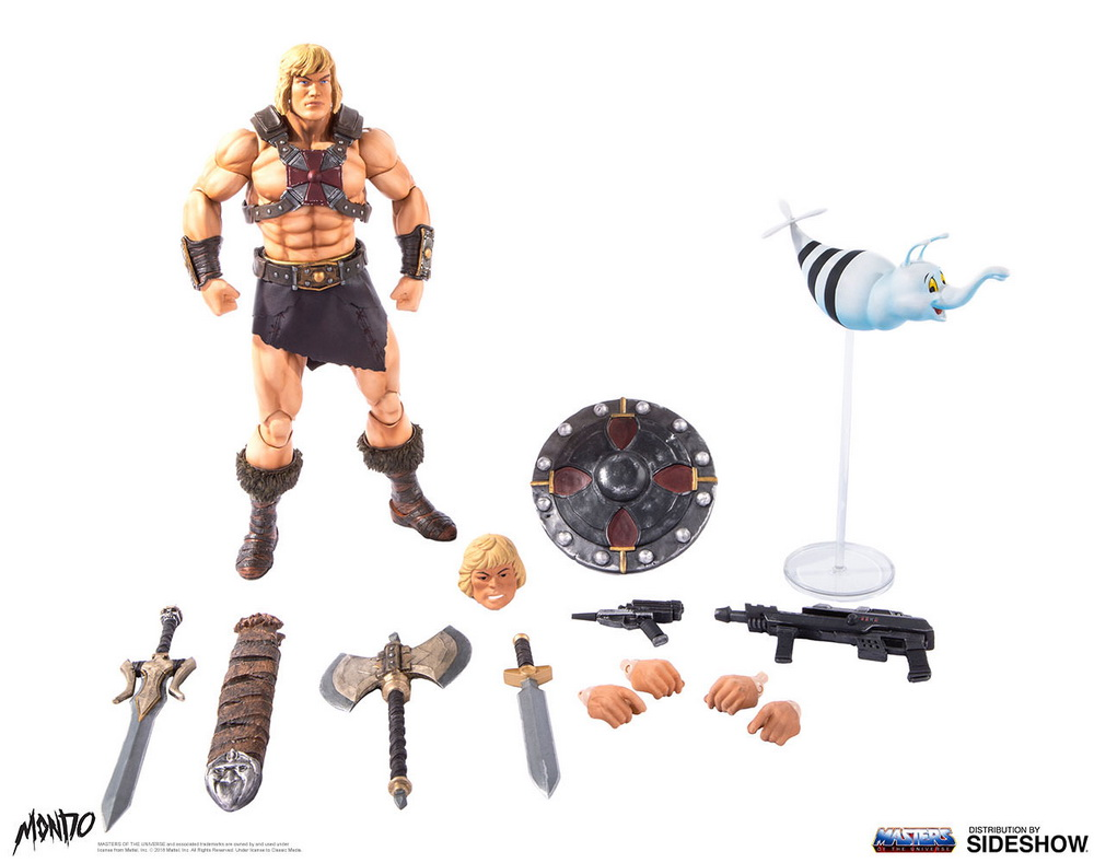 "sideshow - NEW PRODUCT: Sideshow X Mondo: 1/6 ""The Giant of the Universe"" - He-Man / Seaman Movable (#904080) 09512110"