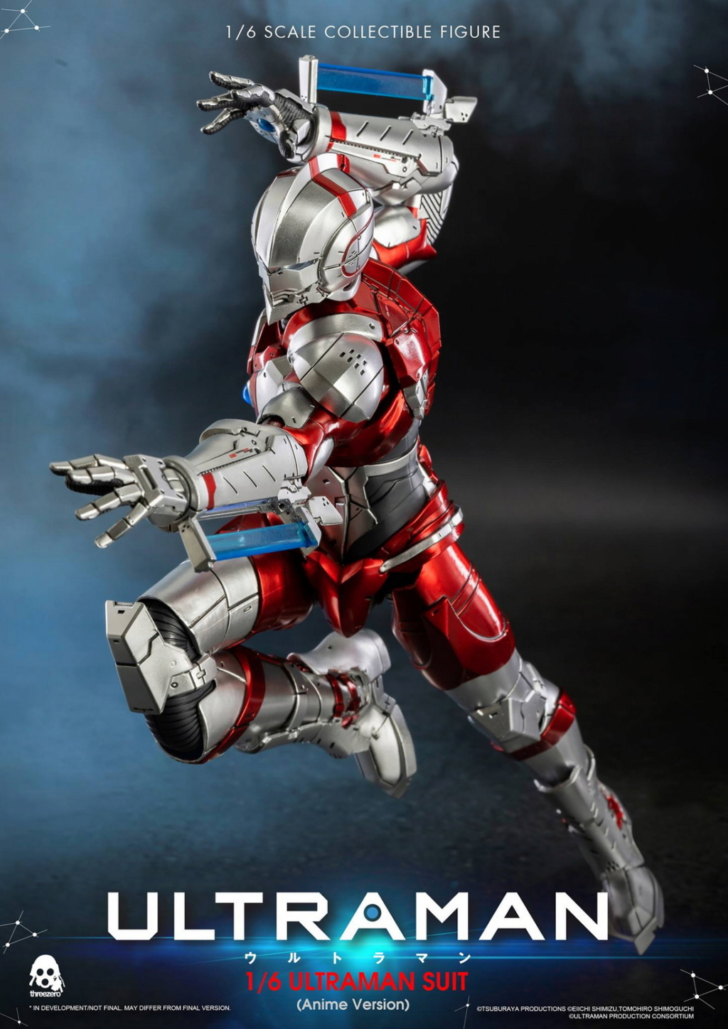 "NEW PRODUCT: Threezero: 1/6 Netflix Animated Edition ""Mobile Altman"" - ULTRAMAN / Altman Motivator 09525810"